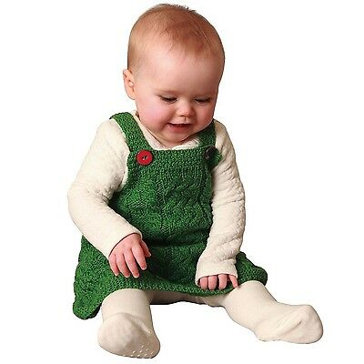 Carraig Donn Baby Wool Pinafore Large New