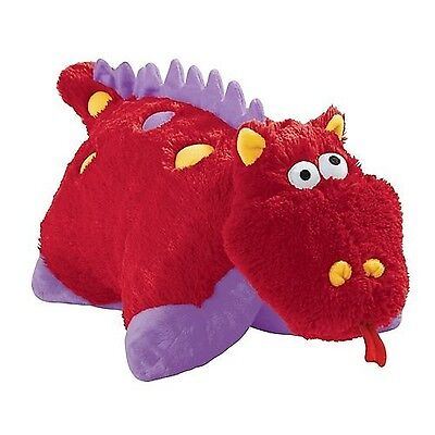 "My Pillow Pets Fiery Dragon 18"" New"
