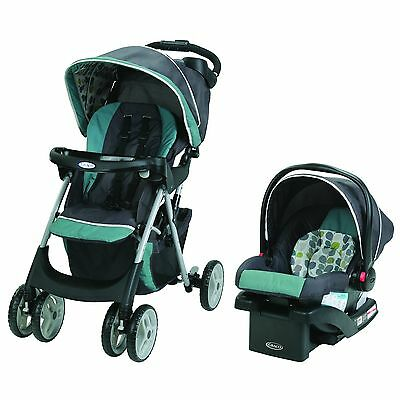 Graco Comfy Cruiser Click Connect Travel System with SnugRide Click Conne... New