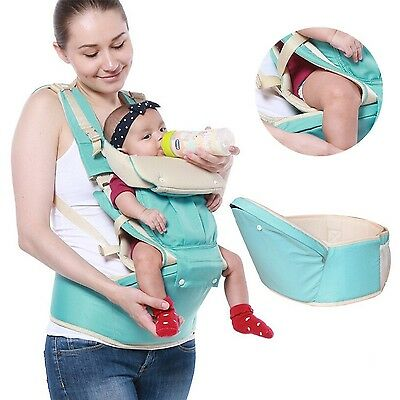Suidcsui 3 in 1 Newborn Baby Front Carrier Infant Comfort Backpack Sling ... New