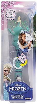FROZEN Elsa's Musical Snow Wand New