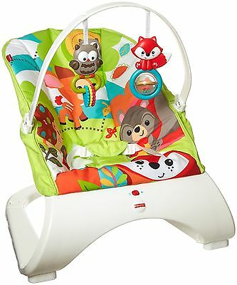 Fisher-Price Comfort Curve Bouncer Woodland Friends New