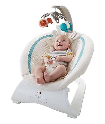 Fisher-Price Deluxe Bouncer-Soothing Savanna New