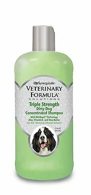 Veterinary Formula Solutions Triple Strength Dirty Dog Concentrated Shamp... New