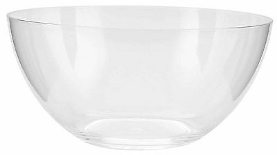 Zak Designs Clear 10-Inch Large Bowl New