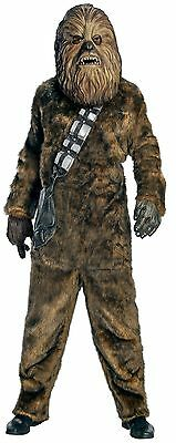 Rubies Costume Star Wars Chewbacca Deluxe Faux Fur Full Mask Costume Brown New