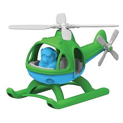 Green Toys HELG-1061 Helicopter Green/Blue Standard Packaging New