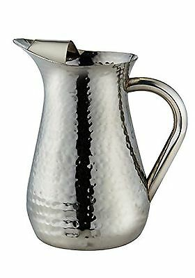 Elegance-72606-Hammered Water Pitcher 48 Ounce New