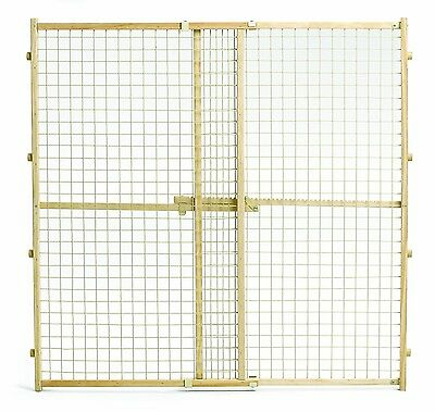 Midwest Wire Mesh Pet Gate 29-Inch to 50-Inch Wide x 44-Inch Tall New