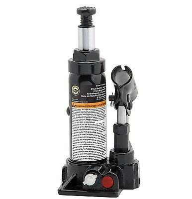 Omega 10125C 10125B Black Hydraulic Bottle Jack-12 Ton Capacity New