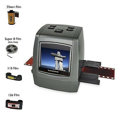 Magnasonic All-In-One High Resolution 22MP Film Scanner Converts 126KPK/1... New