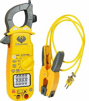 UEI Test Equipment DL389COMBO Phoenix Pro Plus Clamp Meter and Pipe Clamp... New