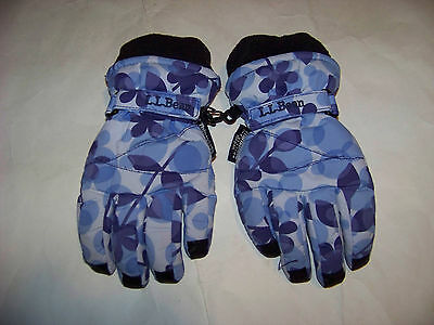 LL Bean Kids Winter Insulated Gloves Size Small (S)