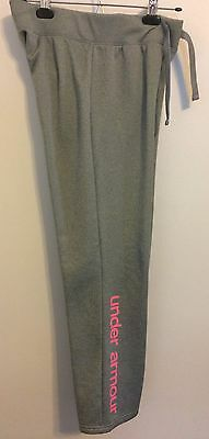 *UNDER ARMOUR Cold Gear Fleece Pants Loose Fit - Youth Size XL Gray