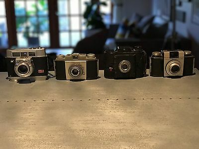 Vintage Camera Lot (4 cameras) - Sold AS IS