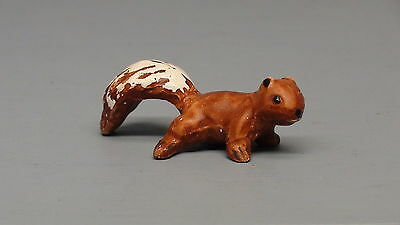 Old Monrovia Hagen Renaker Red Baby Squirrel