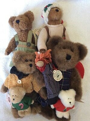 Boyd's Bears And Friends Lot Of 6