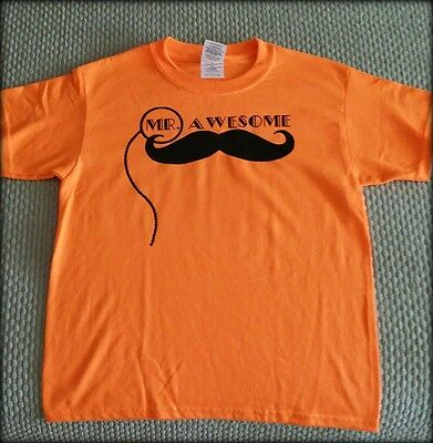 Gildan Heavy Cotton Graphic T-Shirt - Mr. Awesome