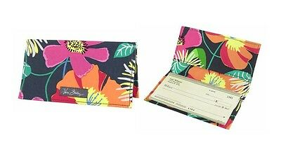 Vera Bradley Checkbook Cover in Jazzy Blooms