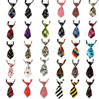 Poular Cute Adjustable Pet Puppy Kitten Dog Cat Necktie Grooming Suit Bow Tie