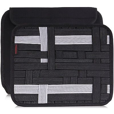 MoKo Organizer Bag Travel Cable Phone Charger Electronics Accessories Cas... New