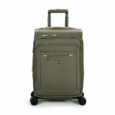 Delsey Luggage Helium X'Pert Lite 2.0 Expandable Spinner Suiter Trolley O... New