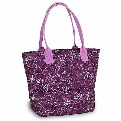 J World New York Lola Lunch Tote Love Purple One Size New