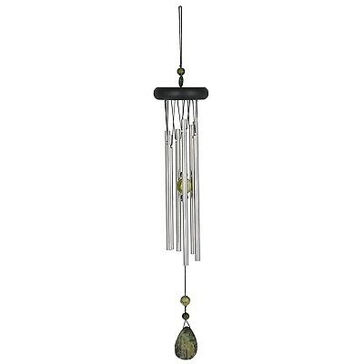 Woodstock Chimes Chakra Wind Chimes Collection Adventurine 17-Inch Long G... New