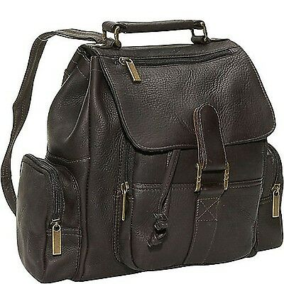 David King & Co. Mid Size Top Handle Backpack Cafe One Size New