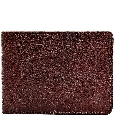 HIDESIGN Giles Vegetable Tanned Leather Wallet with Coin Pocket Brown Und... New