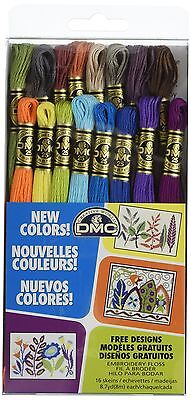 DMC Embroidery Floss Pack 8.7-Yard 16 - New