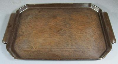 Vintage Garnite 1940s art deco bakelite cocktail/serving tray