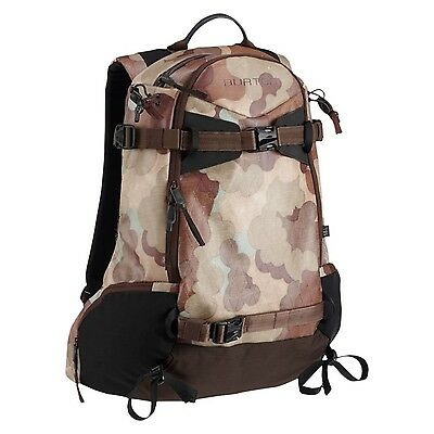 Burton Side Country Backpack Storm Camo Tarp 18L New