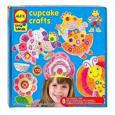 ALEX Toys - Early Learning Cupcake Craft - Little Hands 1419 New