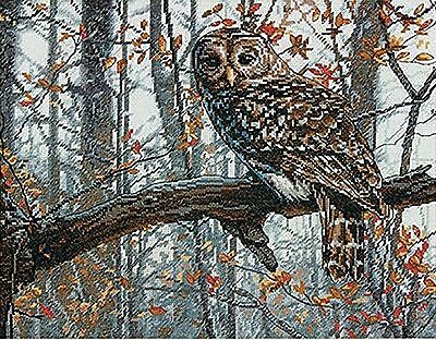 Dimensions  Crafts Counted Cross Stitch Kit Wise Owl New