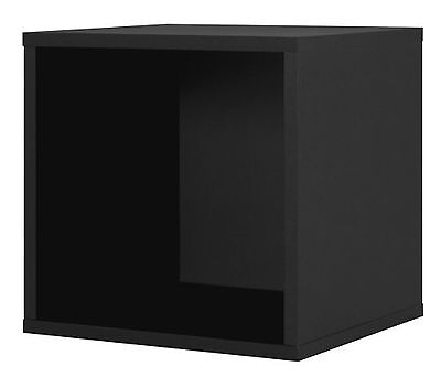 Foremost 327606 Modular Open Cube Storage System Black New