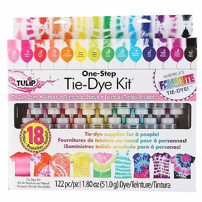 Tulip One Step 18-Color Tie-Dye Kit New