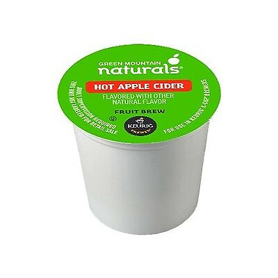 Green Mountain Naturals Hot Apple Cider 24 Count (Packaging may vary) New