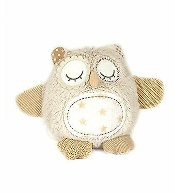 Cloud B Nighty Night Owl on the Go Natural Beige New