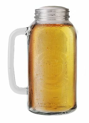 Barbuzzo Mason Beer Stein Clear New