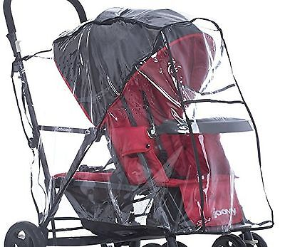 Joovy 901 Caboose Rain Cover Stand on Tandem Stroller Clear New