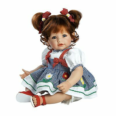 "Adora Toddler Daisy Delight 20"" Girl Weighted Doll Gift Set for Children ... New"