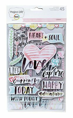 Inspire Edition Chipboard Stickers New