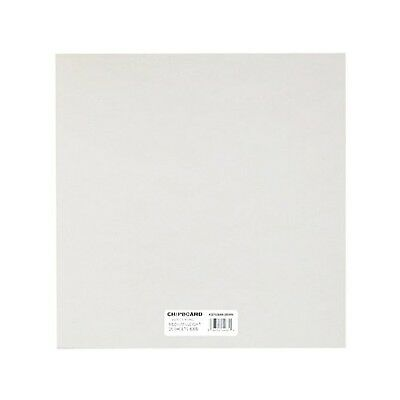 Grafix Medium Weight 6-Inch by 6-Inch Chipboard-Sheets White 25-Pack New