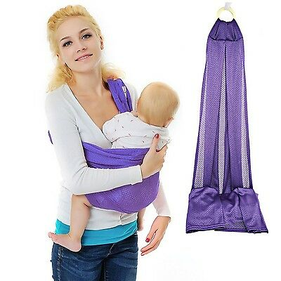 Xcellent Global Baby Wrap Sling Carrier - 100% Polyester Quick Dry Comfor... New