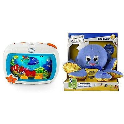 Baby Einstein Sea Dreams Soother and Octoplush New