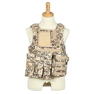 Camouflage Cosplay of Counter Strike amphibious combat vest vest stab-res... New