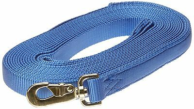 Hamilton 23D BY 1-Inch Single Thick Nylon Horse Long Line with Swivel Sna... New