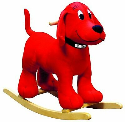 Charm Company CC 82407 Clifford the Big Red Dog Rocker New