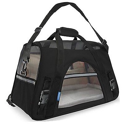 """Pet Carrier Soft Sided Cat / Dog Comfort """"FAA Airline Approved"""" Travel To... New"""